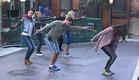 הדיירים מתאמנים על הריקוד (צילום: האח הגדול 24/7)