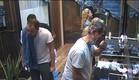 הדיירים בהתארגנויות של בוקר (צילום: האח הגדול 24/7)