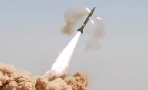 שיגור טילים בסוריה (צילום: חדשות 2)
