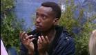 אנדל מתווכח בחצר (צילום: האח הגדול 24/7)