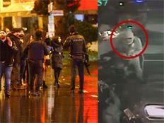 המחבל וזירת הפיגוע בטורקיה (צילום: רויטרס)