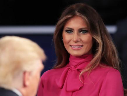מלניה טראמפ (צילום: Getty Images)