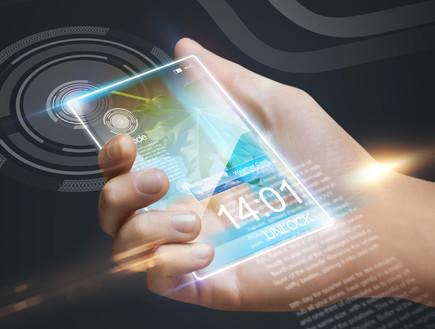 סמארטפון בעתיד (צילום: ShutterStock ,ShutterStock)