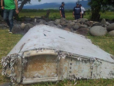 מעט משריד המטוס שכן נמצאו (צילום: CNN)