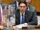 דנון הציג תמונות הנרצחים במועצת הביטחון (צילום: משרד החוץ)