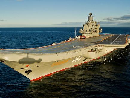 נושאת מטוסים רוסית (צילום: wikipedia)