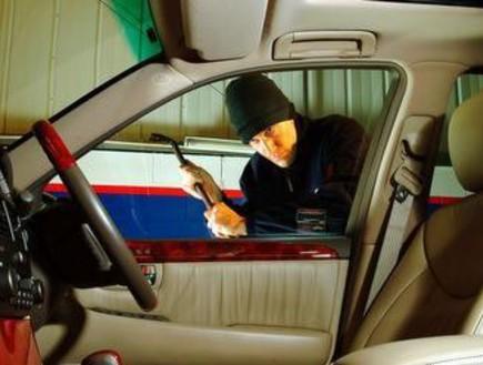 זינוק בניסיון גניבה של מכוניות פרטיות(מערכת אוטו)