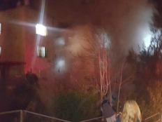 שריפה בירושלים (צילום: חדשות 2)