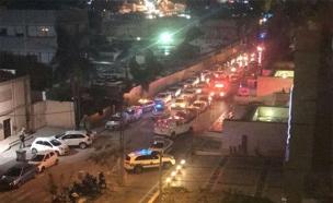 אירוע ירי בתל אביב (צילום: חדשות 2)