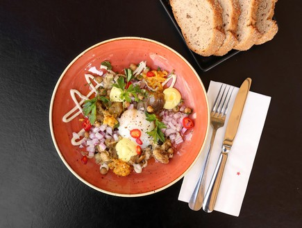 מטבח ללא גבולות - הסביח של אדום (צילום: אפרת ליכטנשטט ריזי )