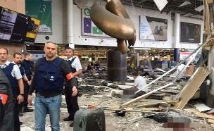 נמל התעופה בבריסל אחרי הפיגוע