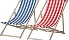 כיסאות חוף של איקאה (צילום: יחצ איקאה)
