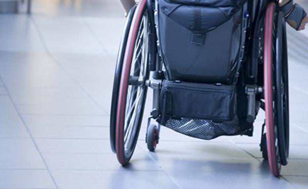 כסא גלגלים, נכה (צילום: חדשות 2)