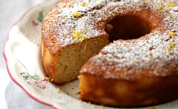 עוגת ארל גריי לימונית  (צילום: קרן אגם ,אוכל טוב)