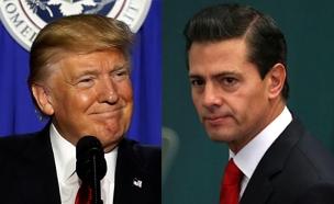 נשיא מקסיקו וטראמפ (צילום: רויטרס)
