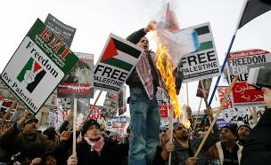 הפגנות נגד ישראל (ארכיון) (צילום: רויטרס)