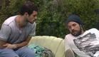 אביחי ודן מדברים בחוץ (צילום: האח הגדול 24/7)