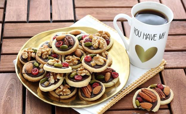 עוגיות מנדיאנט (צילום: ענבל לביא ,אוכל טוב)