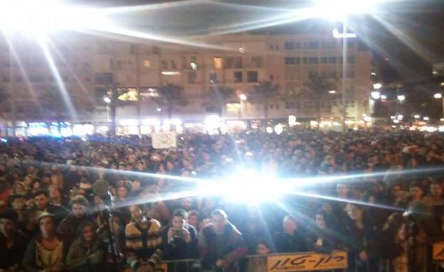 הפגנת קנאביס בתל אביב (צילום: קנאביס ,קנאביס)