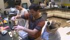 אורנה, דן ותאלין מבשלים (צילום: האח הגדול 24/7)