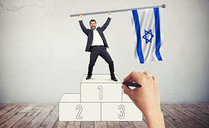 הדירוגים של ישראל (צילום: gettyimages + סטודיו mako)