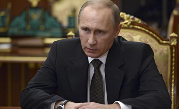 """פוטין דורש התנצלות על הכינוי """"רוצח"""" (צילום: רויטרס)"""