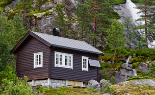 צימר בנורווגיה (צילום: Oleg Totskyi, Shutterstock)