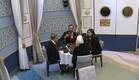 ארוחה עם סיה (צילום: האח הגדול 24/7)