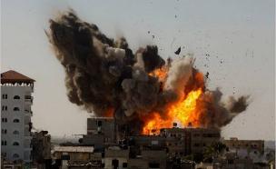 תקיפה ישראלית בעזה