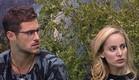 דן ואורנה בחצר (צילום: האח הגדול 24/7)