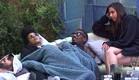 שם, אנדל, עדן ושני בסתלבט בפינת עישון (צילום: האח הגדול 24/7)