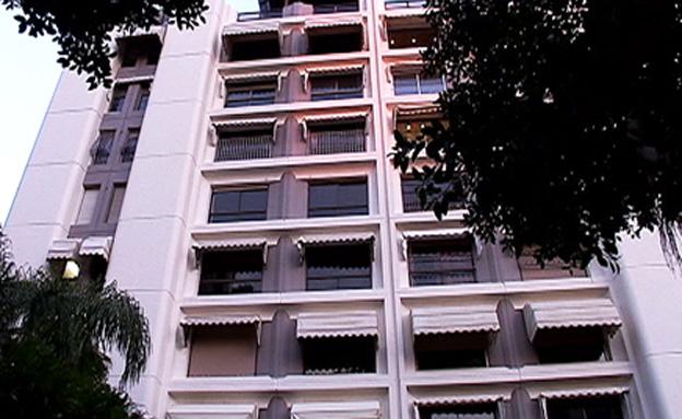 דירה שנייה בבעלות יאיר לפיד (צילום: חדשות 2)