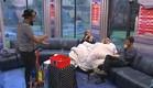 דן, אורנה ומעיין מתעלמים ממופע בועות סבון (צילום: האח הגדול 24/7)