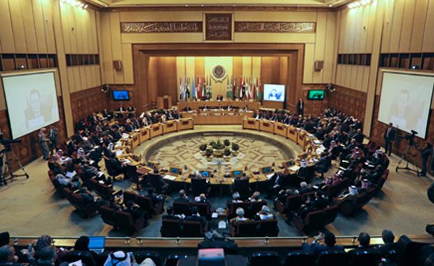 ישיבה במטה הליגה הערבית, ארכיון (צילום: רויטרס)