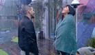 שרון גל וג'ודי בחצר (צילום: האח הגדול 24/7 ,האח הגדול 24/7)