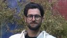 עומר בחצר (צילום: האח הגדול 24/7)