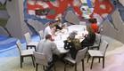 הדיירים בארוחה לילית (צילום: האח הגדול 24/7)