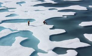 "הקוטב הצפוני (צילום: נאס""א)"