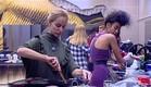 אורנה ועדן במטבח (צילום: האח הגדול 24/7)
