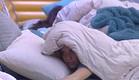 אנסטסיה מתעוררת  (צילום: האח הגדול 24/7)