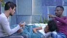 אנדל, עדן ודן מדברים בחצר (צילום: האח הגדול 24/7)