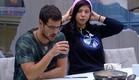 דן וג'ודי יושבים לאכול (צילום: האח הגדול 24/7)