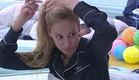 אורנה מסדרת את השיער  (צילום: האח הגדול 24/7)