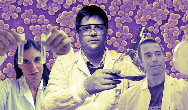 חיידקים למגזין (צילום: עופר חן)