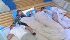 דן, אורנה, מעיין ואביחי בחדר השינה  (צילום: האח הגדול 24/7)