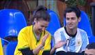 שני מעודדת את השחקנים (צילום: האח הגדול 24/7)