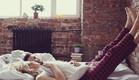 זוג בחדר שינה (צילום: Shutterstock)