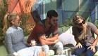 מעיין, דן ואורנה בחצר  (צילום: האח הגדול 24/7)