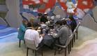 הדיירים אוכלים ארוחת ערב (צילום: האח הגדול 24/7, שידורי קשת)