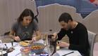 שני ושרון בארוחת צהריים (צילום: האח הגדול 24/7)